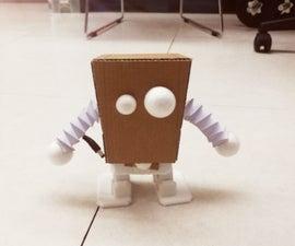 DIY Cardboard Dancing Robot