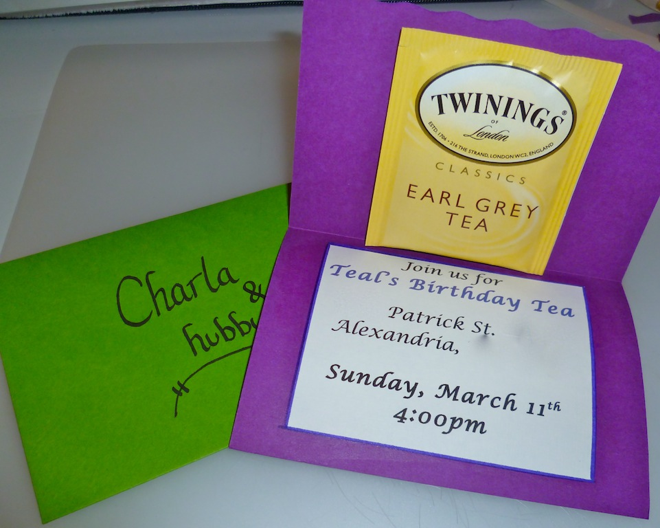 Picture of Tea Party Invitations