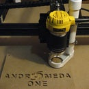X-Carve CNC Router Dust Collector/Shoe