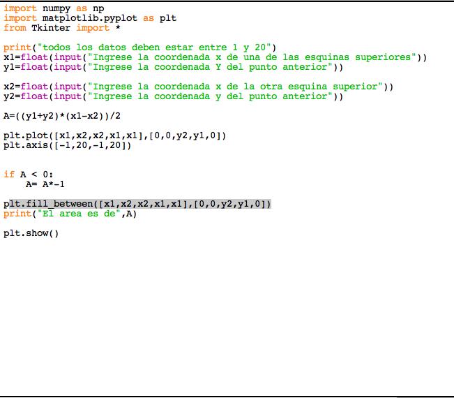 Picture of Como Calcular El Area De Un Trapecio Con Python: Codigo