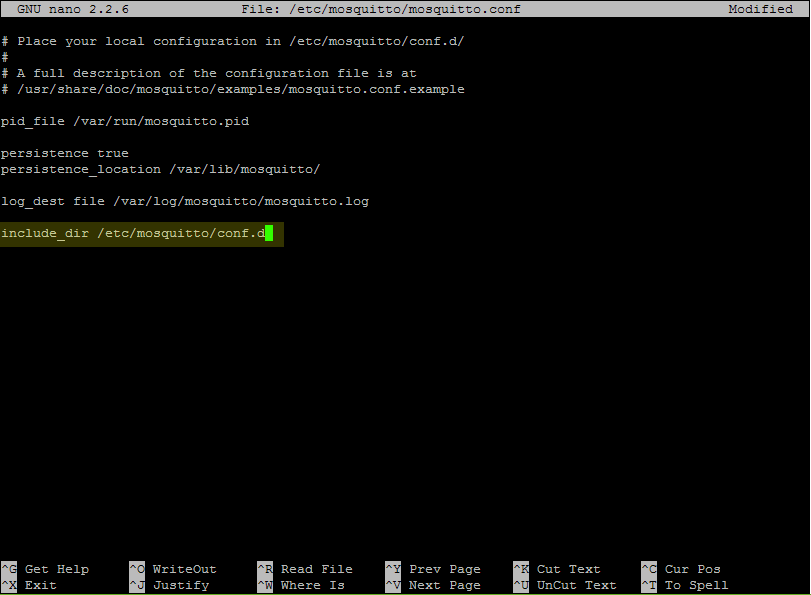 Picture of Installing the MQTT Broker on the Raspberry Pi