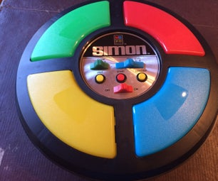 Fix a Vintage Simon Game