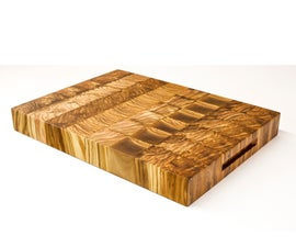 How to Make an Olive Wood Cutting Board