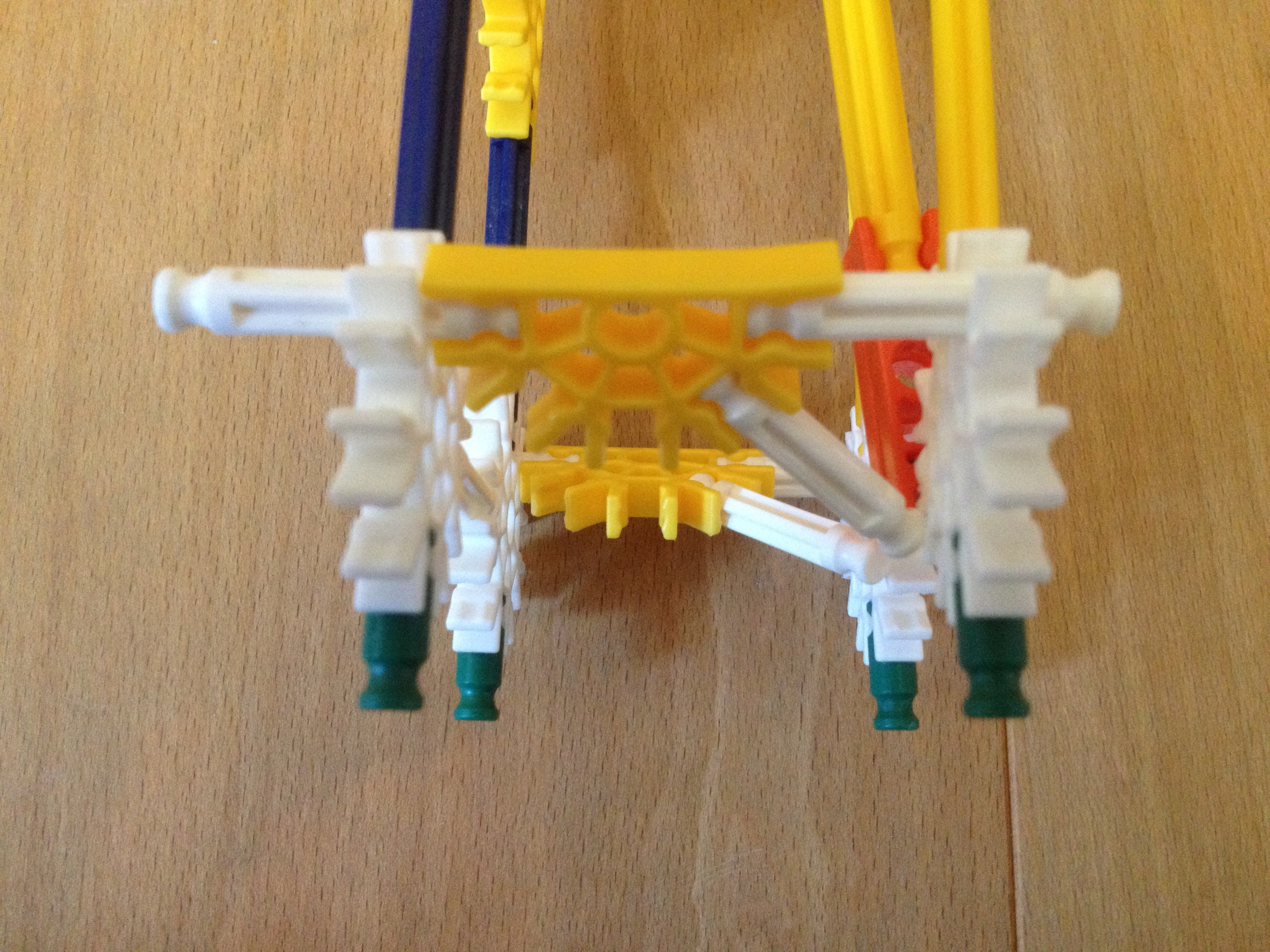 Picture of Attach the Bottom Supports to the Stand
