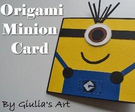 Despicable Me - Minion Card