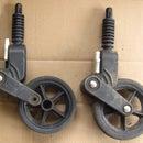 Bugaboo Pram - Front wheel repair
