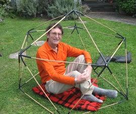 Kid Friendly Bamboo Geodesic Dome