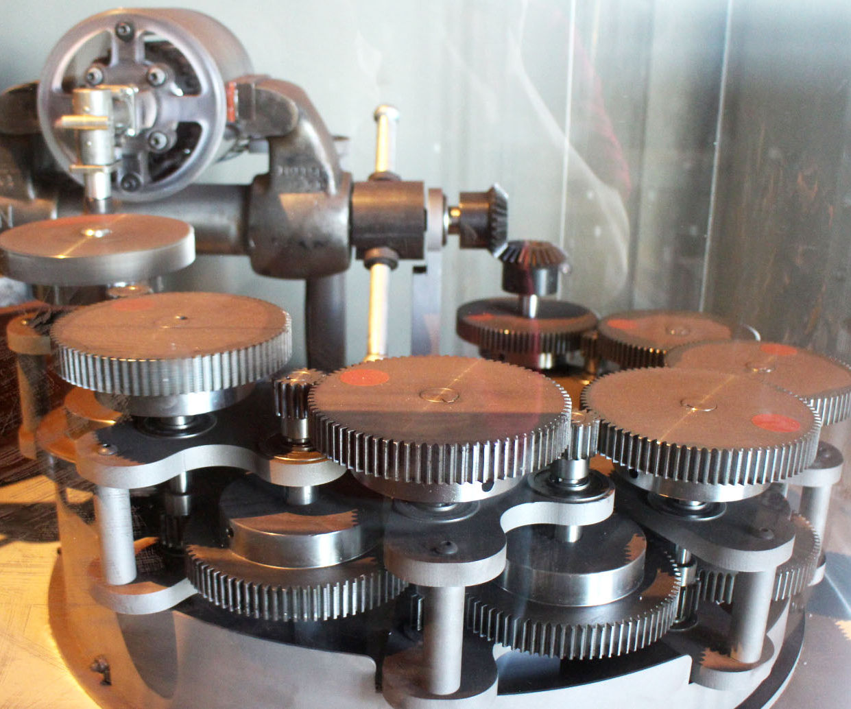 Gears. The mechanism and types of gears 58