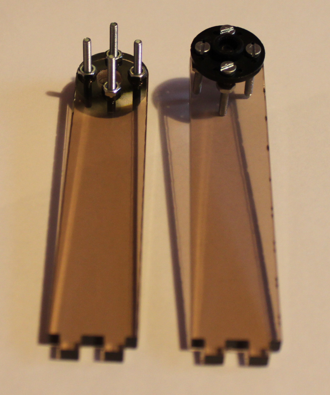 Picture of Attach Servo Arms to Face Holder