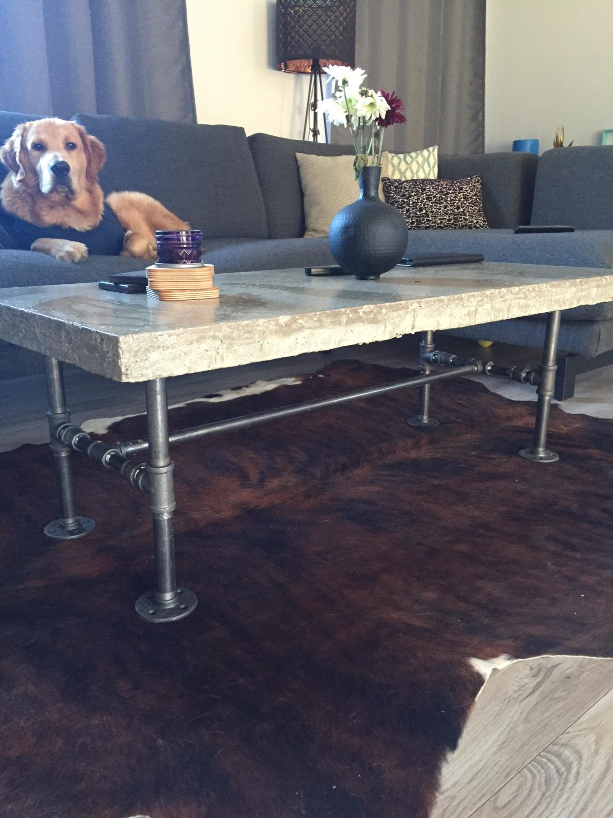 Picture of Concrete Coffee Table