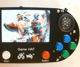 Setup Waveshare Game Hat for Recalbox and Kodi