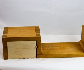 Dovetailed Wall Shelf