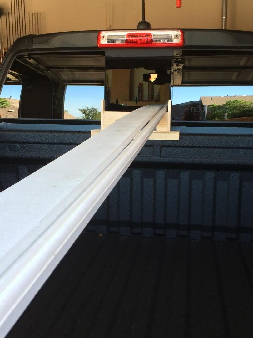 Picture of Thru-window Long Board Support for Pick-up Trucks