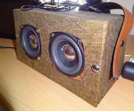 my homemade speaker