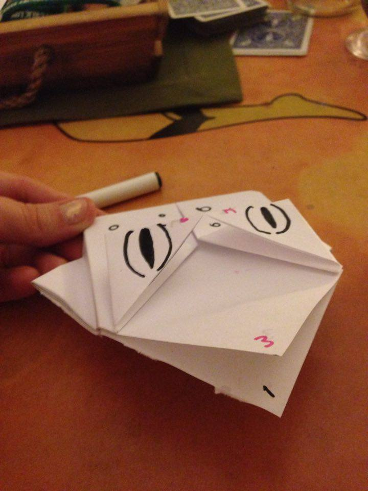Picture of Origami Frog