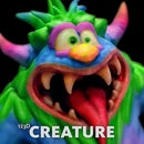 Creating a Halloween Monster with 123D Creature