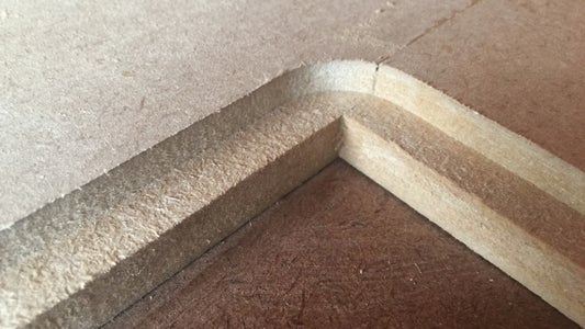 Router Groove for Panels, Glue on Legs