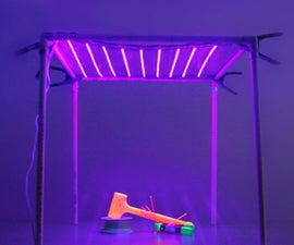 How to Make a Collapsible UV LED Lamp