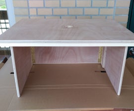 Folding Plywood Router Table