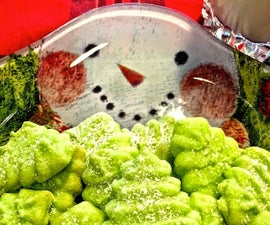 Christmas Buttery Rich Spritz Cookies