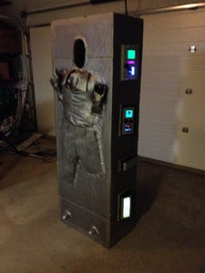 Han Solo Frozen in Carbonite Costume