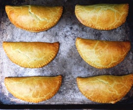 Jamaican Curried Beef Patties (Pasties)
