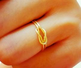 3 styles of DIY dainty gold rings