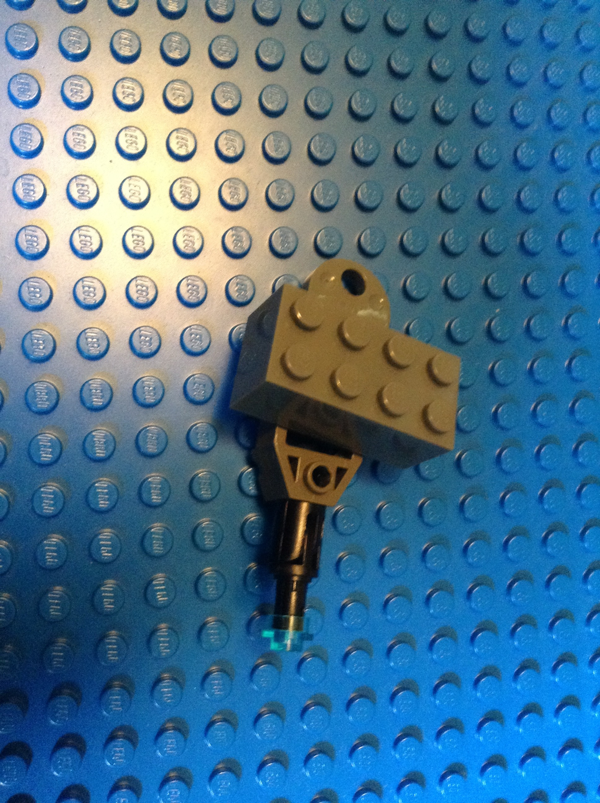 Picture of LEGO Laser Canon.