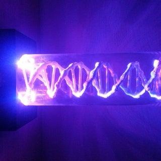 3D Printed DNA Lamp