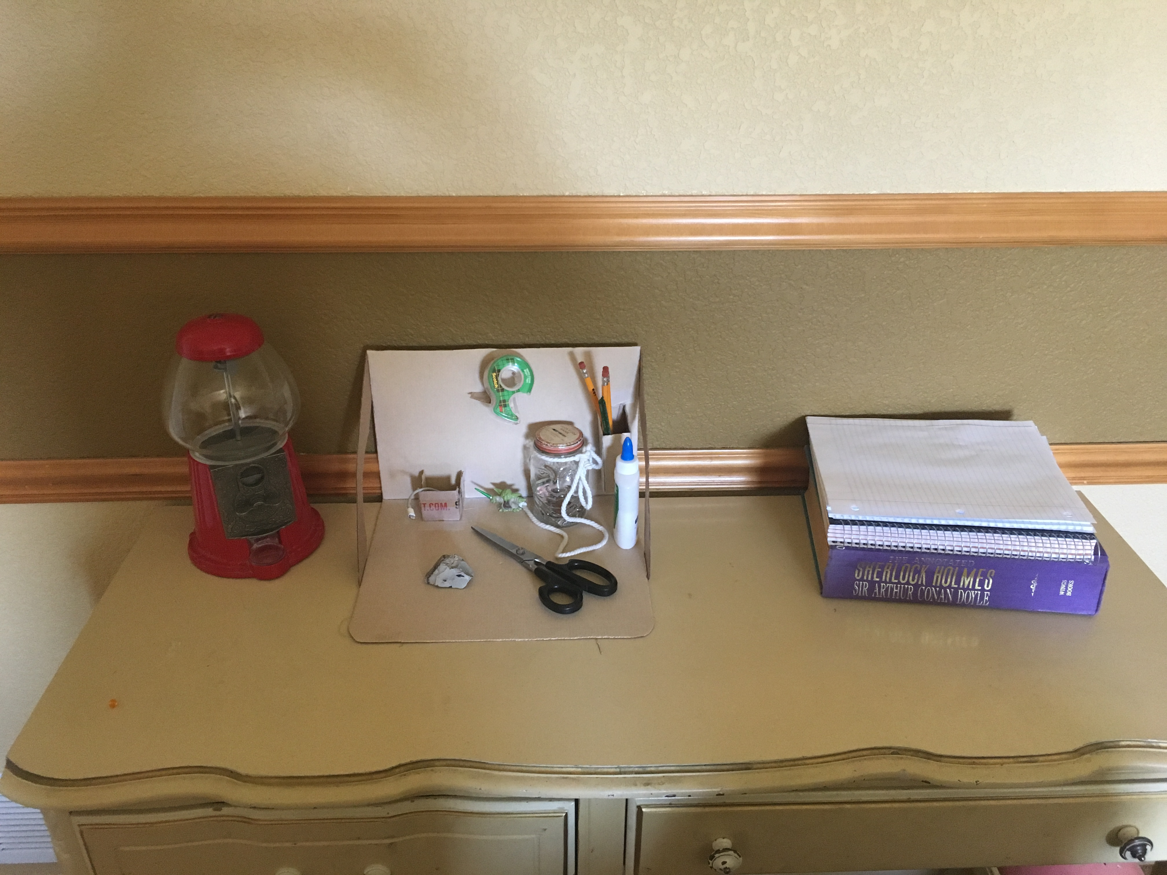 Picture of Quick and Easy Cardboard Desk Organizer