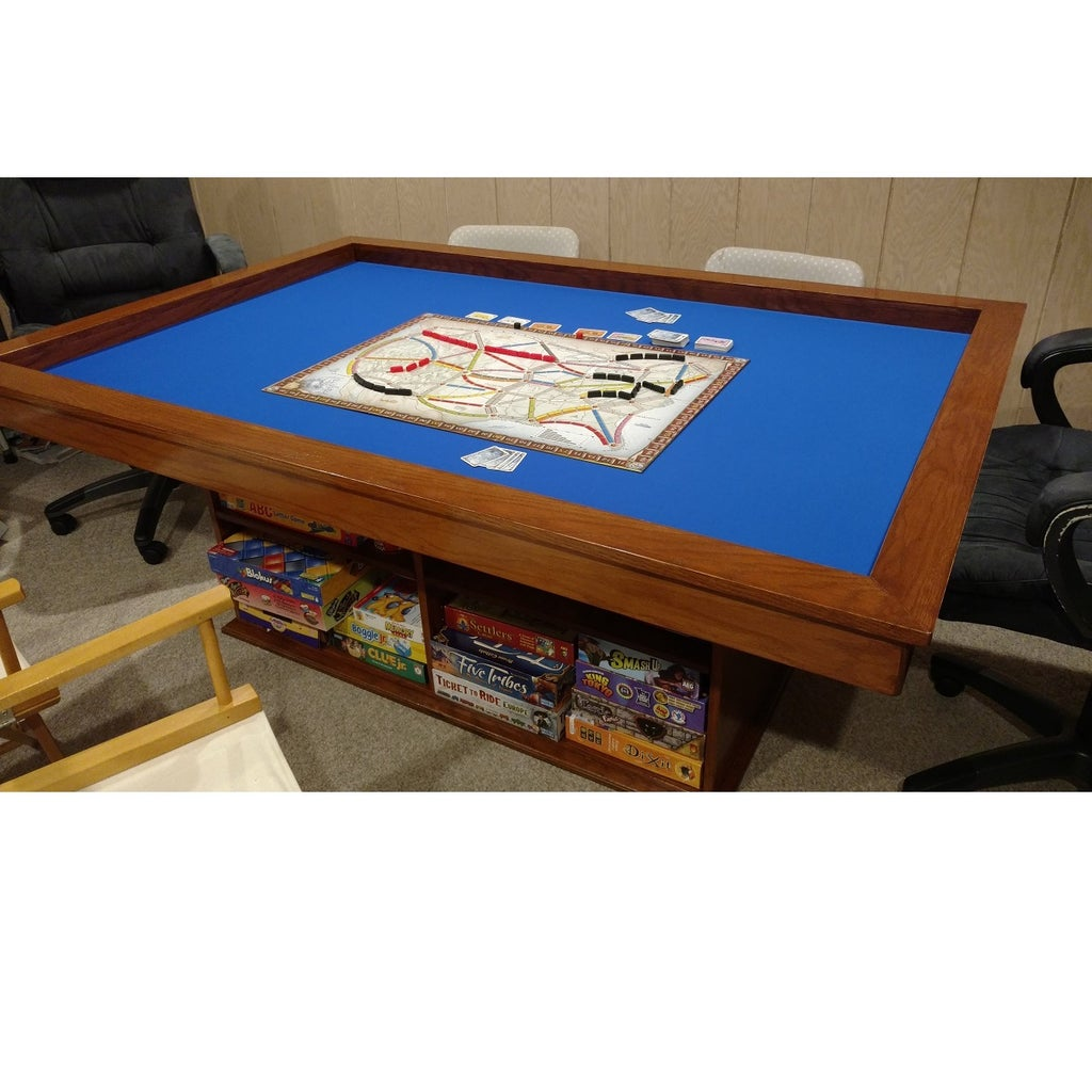 Gaming Coffee Table.Make Your Own Gaming Table With Built In Game Storage 5 Steps With