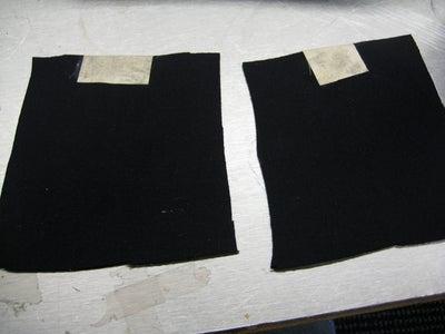 Glue Conductive Fabric