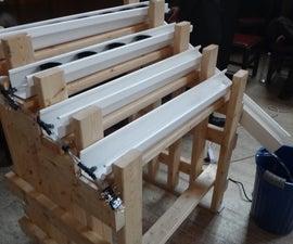 DIY Hydroponics using PVC gutter (prototype)