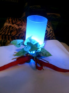 Making Cheap Tabletop LED Mood Candle (Improved)