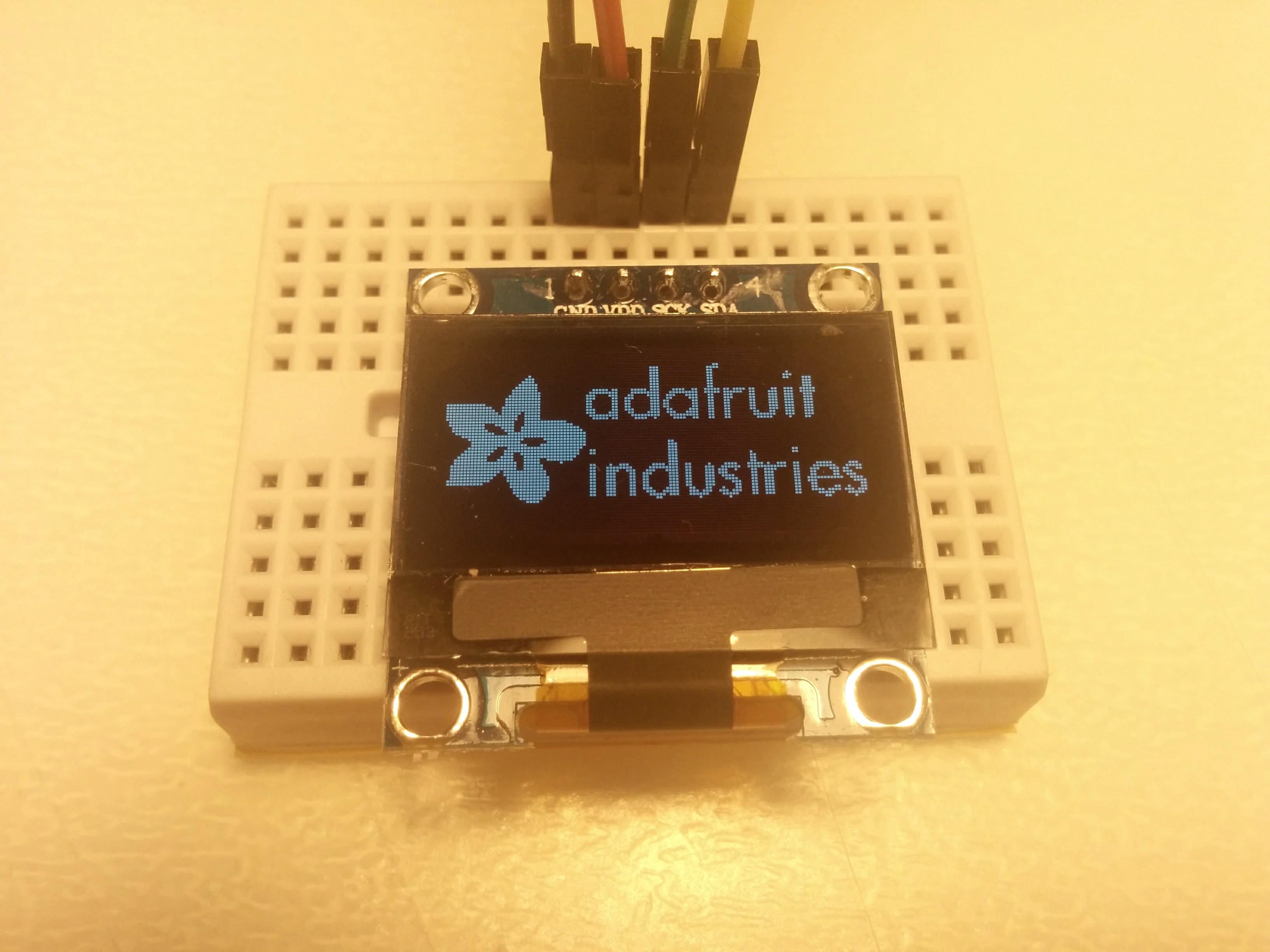 Picture of Initializing the Display Module