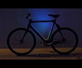 Python可编程LED自行车灯