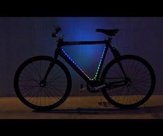 LED Bike Light Programmable With Python