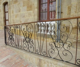Wrought Iron Handrails/ Fence.