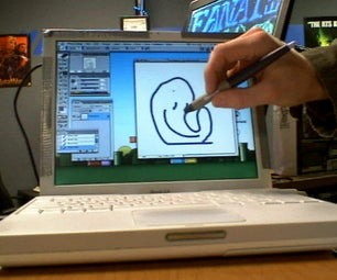 Hack Mac Laptop to Be a Mac Tablet in 15 Minutes or DIY Cintiq