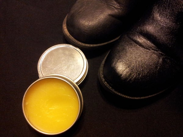 How to Make High Grade Natural Beeswax Leather Polish and Conditioner