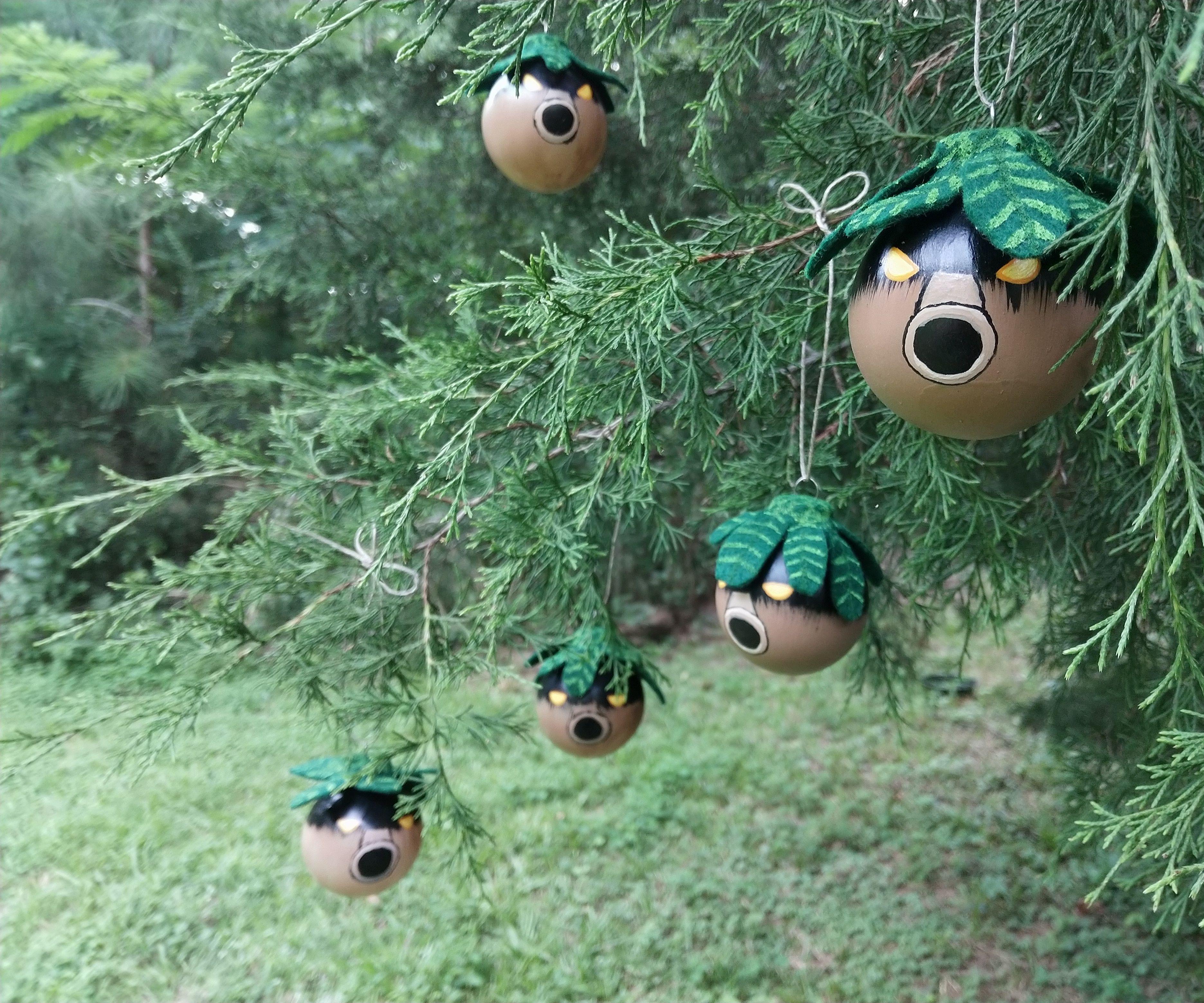 Deko Ornament.Zelda Deku Ornaments 9 Steps With Pictures