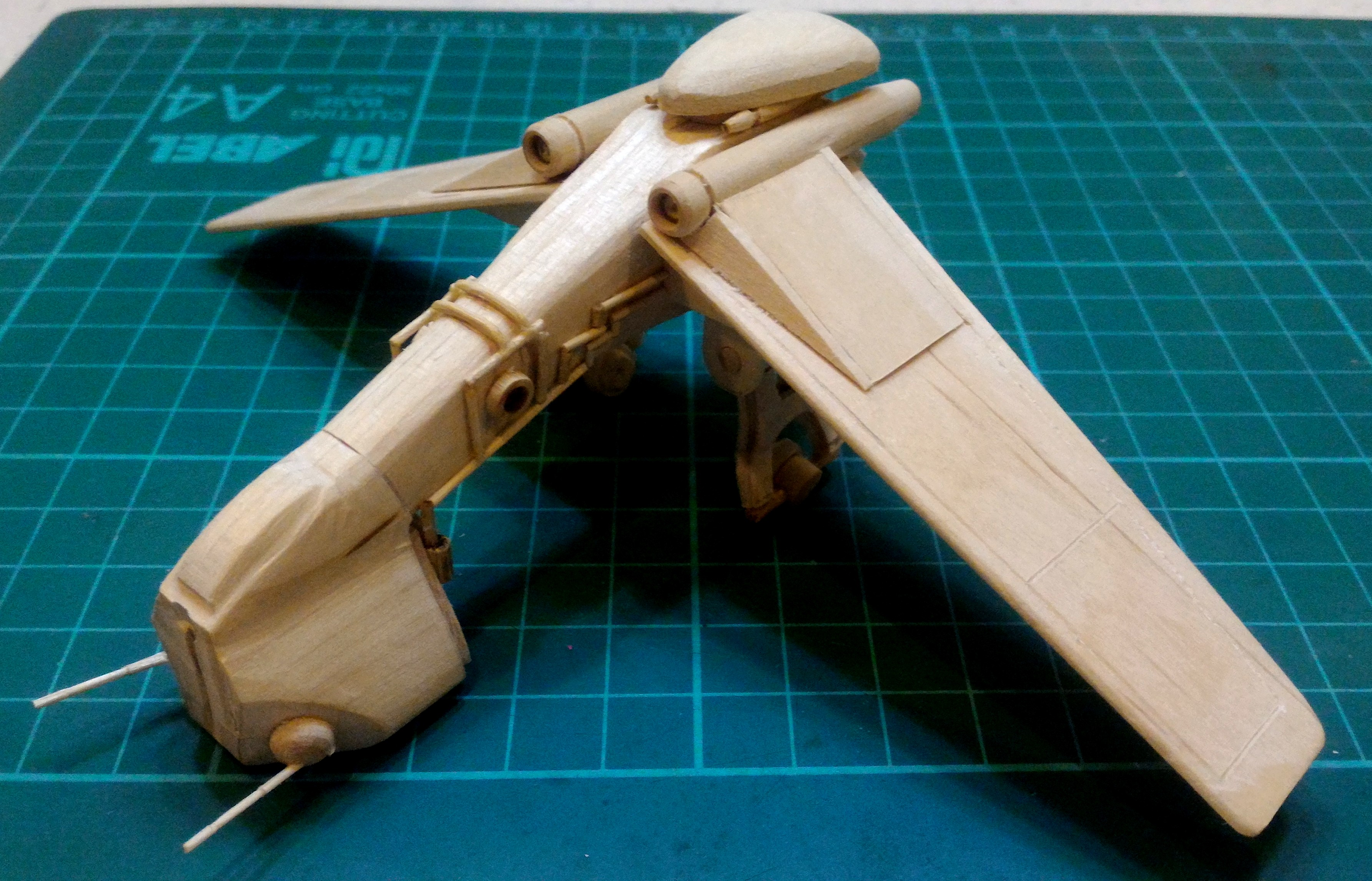 Picture of (And Finally Another Not So) Mini LAAT/c Popsicle Stick Model