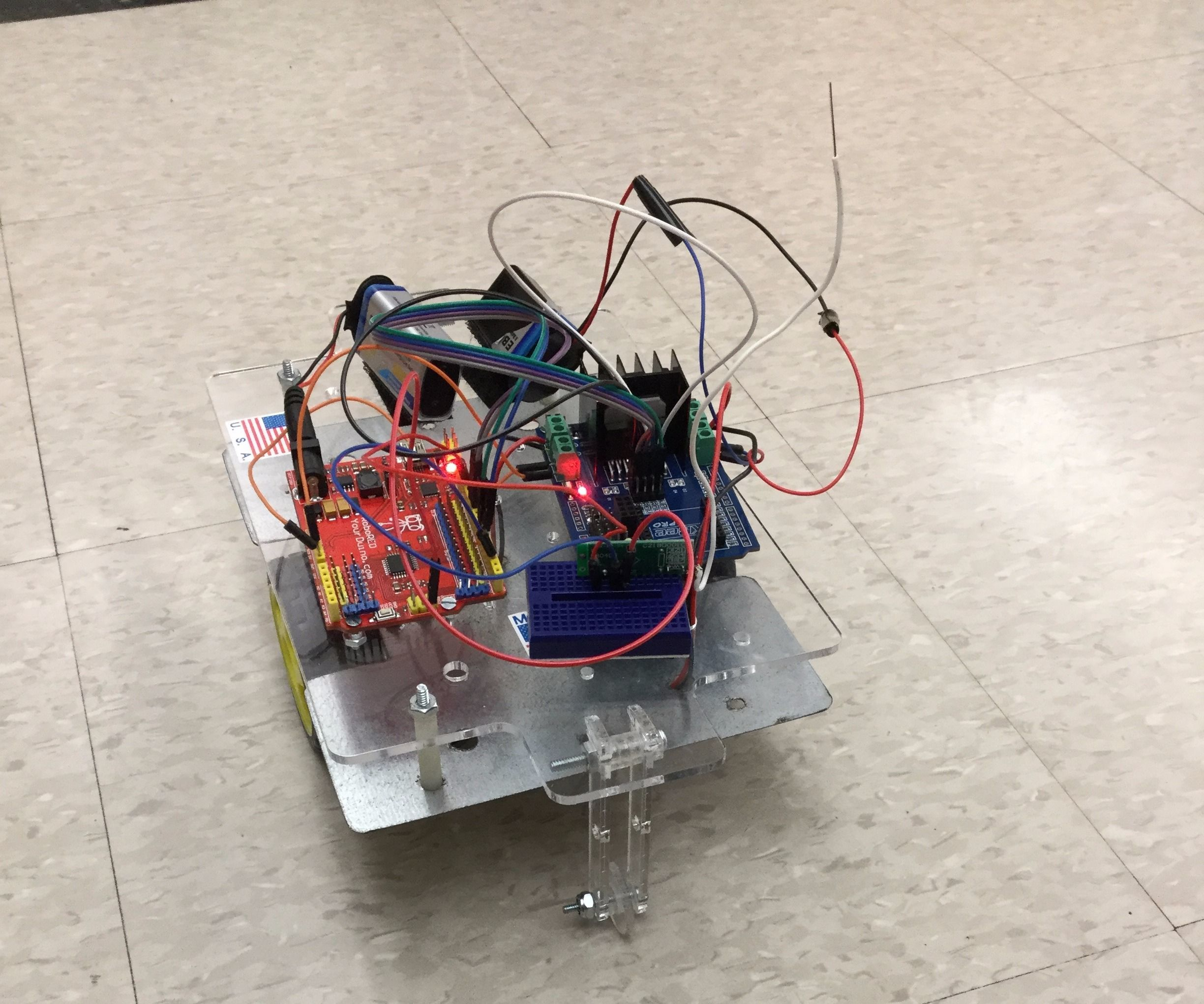 Building an RC Car Using a 433 MHz RF Transmitter and
