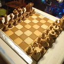 Gingerbread Chess Set