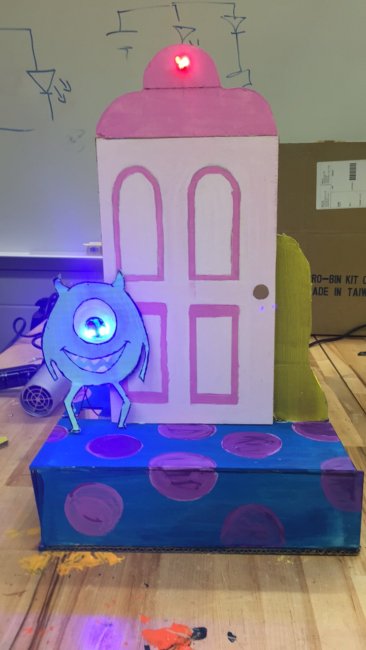Picture of How to Make a Scaled Model of Boo's Door Out of Wood
