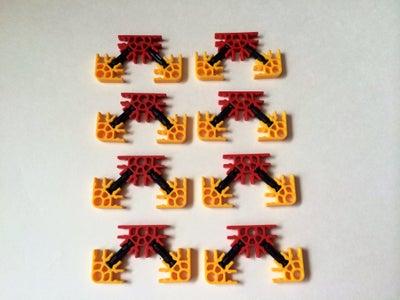 Reverse Tac-Rail Pieces