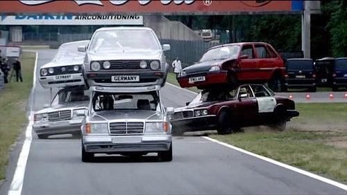 Knex Top Gear Challenge Creation.