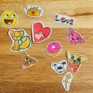 Homemade Stickers