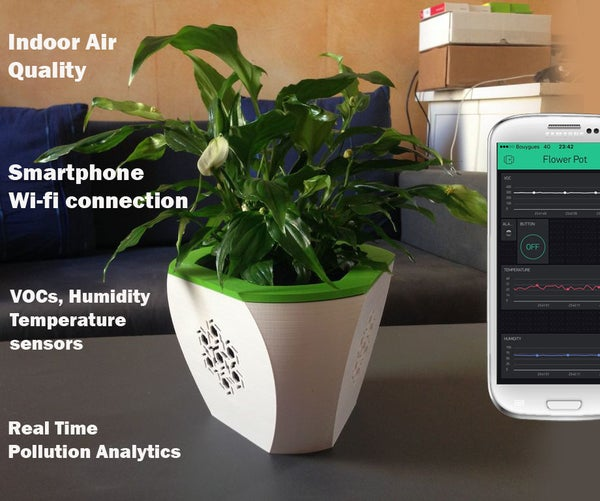 Healthy, Smart & Natural Air Cleaner With Arduino, WIFI and Blynk