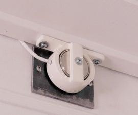 Magnetic Smart Lock With Secret Knock, IR Sensor, & Web App